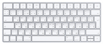 Купить Клавиатура Apple Magic Keyboard White Bluetooth (White)