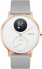 Купить Умные часы Nokia Steel HR 36mm (Rose Gold/Grey)