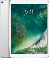 Купить Планшет Apple iPad Pro 10.5 Wi-Fi+Cellular 64GB MQF02RU/A (Silver)