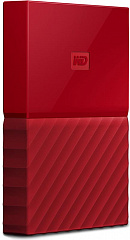 "Купить Внешний жесткий диск Western Digital My Passport 2.5"" USB 3.0 2Tb HDD WDBUAX0020BRD-EEUE (Red)"