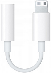 Купить Адаптер Apple Lightning to 3.5 mm Jack MMX62ZM/A (White)