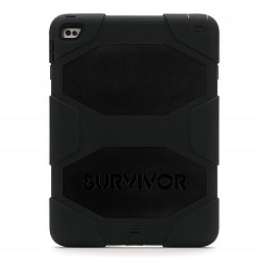 Купить Чехол Griffin Survivor All-Terrain для iPad Air 2 (Black/Black)