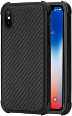 Купить Чехол Pitaka MagCase Pro для Apple iPhone X (Black/Grey Twill)