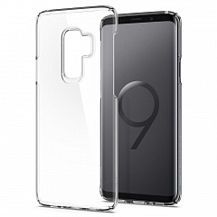Купить Клип-кейс Spigen Thin Fit (593CS22961) для Samsung Galaxy S9 Plus (Crystal Clear)