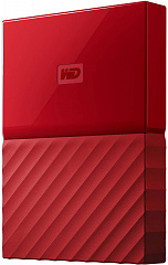 "Купить Внешний жесткий диск Western Digital My Passport 2.5"" USB 3.0 2Tb HDD WDBLHR0020BRD-EEUE (Red)"