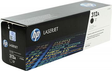 Купить Картридж HP CF380A (312A) для МФУ HP Color LaserJet M476 (Black)