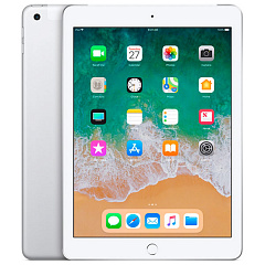 Купить Планшет Apple iPad 9.7'' 128Gb Wi-Fi+Cellular 2018 MR732RU/A (Silver)