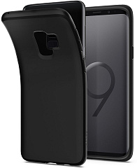 Купить Чехол Spigen Liquid Crystal (592CS22825) для Samsung Galaxy S9 (Matte Black)