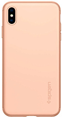Купить Чехол Spigen Thin Fit 360 (065CS25351) для iPhone Xs Max (Blush Gold)