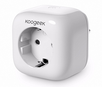 Wi-Fi-розетка Koogeek Smart Plug Apple HomeKit P1EU1 (White)
