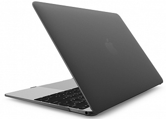 Купить Чехол-накладка Novelty Electronics Transparent Hard Shell Case для Apple MacBook 12 (Black)