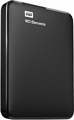 "Купить Внешний жесткий диск Western Digital Elements Portable 2.5"" USB 3.0 1Tb HDD WDBUZG0010BBK-WESN (Black)"