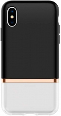 Купить Чехол Spigen La Manon Jupe (063CS25368) для iPhone XS/X (Milk Black)