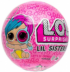 Купить Кукла-сюрприз LoL Lil Sisters Eye Spy Series Wave 2 (Pink)