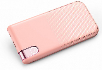 Купить Внешний аккумулятор Baseus Thin Version Wireless Charge Power Bank (PPALL-QY04) 10000 mAh (Pink)