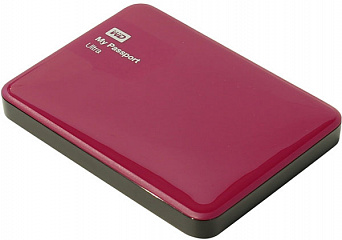 Купить Внешний жесткий диск Western Digital My Passport Ultra 500Gb USB 3.0 WDBBRL5000ABY-EEUE (Berry)