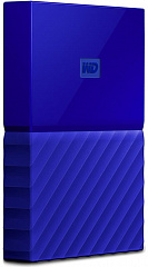 "Купить Внешний жесткий диск Western Digital My Passport 2.5"" USB 3.0 4Tb HDD WDBUAX0030BBL-EEUE (Blue)"