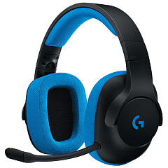 Купить Игровая гарнитура Logitech G233 Prodigy Wired Gaming Headset (Black/Cyan)