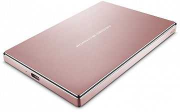 "Купить Внешний накопитель LaCie Porsche Design Mobile 2.5"" 2TB USB-C STFD2000406 (Rose Gold)"