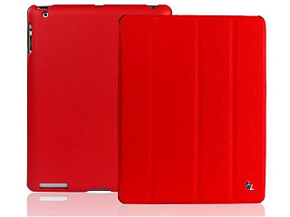 Купить Jison Smart Leather Case - чехол для iPad 2/iPad 3/iPad 4 (Red)