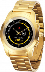 Купить Умные часы MyKronoz ZeTime Elite (Brushed Yellow Gold/Metal Link)