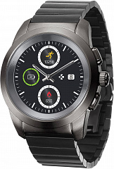 Купить Умные часы MyKronoz ZeTime Elite Regular (Brushed Titanium/Modern Link)