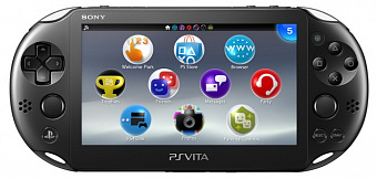 Sony PS Vita 2000 Slim Black Rus (PCH-2008) + Карта памяти 16 Гб + Disney Mega Pack