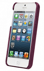 Купить Чехол Vetti Craft Leather Snap Cover (IPO5LES1110108) для iPhone 5/5S/SE (Purple)