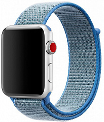 Купить Ремешок COTEetCI W17 Magic Tape (WH5226-HL) для Apple Watch series 2/3/4 42/44mm (Blue)