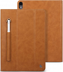 Купить Чехол Jisoncase Mircofiber Leather Case (JS-PRO-45M20) для iPad Pro 11 (Braun)