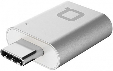 Купить Адаптер Nonda Mini Adapter USB-C to USB 3.0 (Silver)