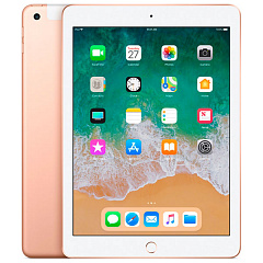 Купить Планшет Apple iPad 9.7'' 32Gb Wi-Fi+Cellular 2018 MRM02RU/A (Gold)