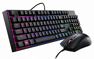 Купить Комплект клавиатура и мышь Cooler Master MasterKeys Lite L Combo with RGB SGB-3040-KKMF1-RU (Black)